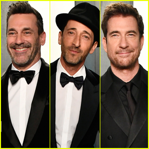 Jon Hamm, Adrien Brody, & Dylan McDermott Show Off Their Suave Side at Vanity Fair Oscar Party 2020