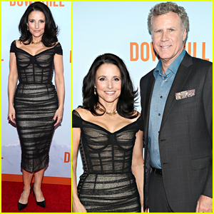 Julia Louis Dreyfus Brings Downhill To Nyc With Co Star Will