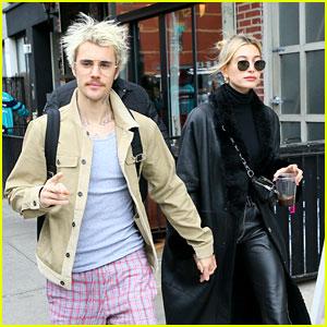 Justin Bieber & Wife Hailey Grab Breakfast in Brooklyn Before Final 'SNL' Rehearsals