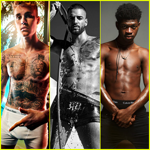 Justin Bieber, Maluma, Lil Nas X & More Strip Down for Hot Calvin Klein Campaign - See the Sexy Pics!