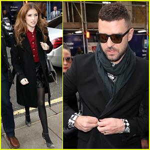 Justin Timberlake & Anna Kendrick Keep It Chic for More 'Trolls World Tour' Promo