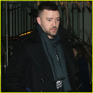 Justin Timberlake Enjoys Night Out with Friends in London