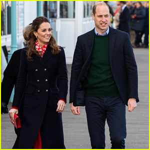 Kate Middleton & Prince William Treat Themselves To Ice Cream During South Wales Seaside Visit!
