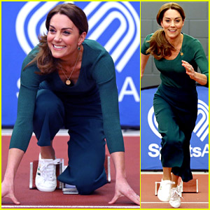 Duchess Kate Middleton Shows Off Her Running Skills & It's All on Video!