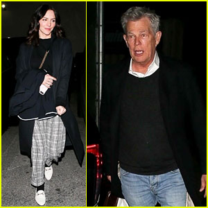Katharine McPhee & Husband David Foster Stop By One of Their Favorite L.A. Restaurants