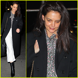 Katie Holmes Keeps It Stylish While Out in NYC