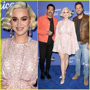 Katy Perry Wears Cute Pink Dress For 'American Idol' Season 18 Premiere