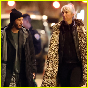 Keanu Reeves is Joined by Girlfriend Alexandra Grant on Set of 'The Matrix 4'