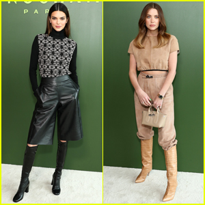 Kendall Jenner & Ashley Benson Step Out for Longchamp NYFW Show