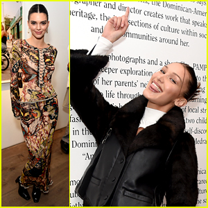 Kendall Jenner & Bella Hadid Hit Two Events Together in London