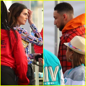 Kendall Jenner Attends Super Bowl 2020 with Boyfriend Ben Simmons!