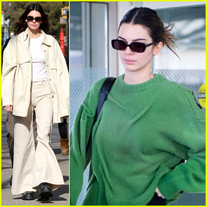 Kendall Jenner Wears Bell Bottoms Out in New York City