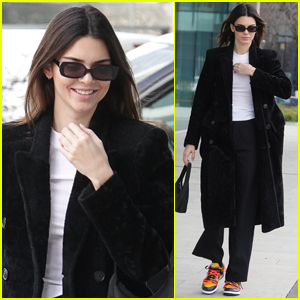 Kendall Jenner Shows Off Cool Off-Duty Model Style in Milan!