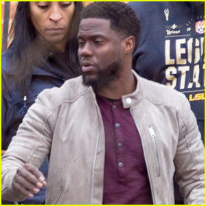 Kevin Hart Begins Filming First Movie After His Car Accident