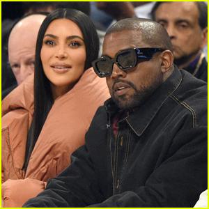 Kim Kardashian & Kanye West Sit Courtside at NBA All-Star Game 2020!