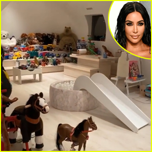 Kim Kardashian Gives Extensive Tour of Her Kids' Playroom & Proves Her House Isn't as Minimal As You Think!