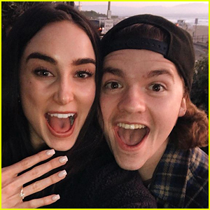 'Kissing Booth' Star Joel Courtney is Engaged to Mia Scholink!