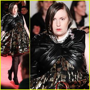 Lena Dunham Makes London Fashion Week Debut For 16Arlington