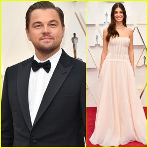 Leonardo DiCaprio & Girlfriend Camila Morrone Walk the Red Carpet Separately at Oscars 2020