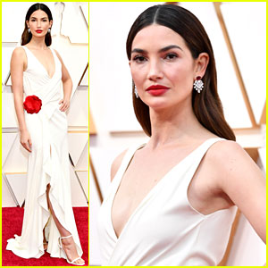 Lily Aldridge Stuns in an Archive Gown on Oscars 2020 Red Carpet
