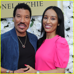 Lionel Richie is Supported by Girlfriend Lisa Parigi at Hello Fragrance Launch!