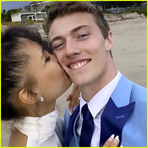 Lucky Blue Smith Marries Nara Pellman in Surprise Wedding!