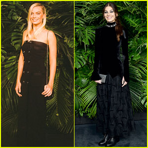 Margot Robbie & Camila Morrone Celebrate Oscars Weekend at Chanel Party!