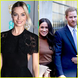 Margot Robbie Invites Meghan Markle & Prince Harry To Dinner in LA