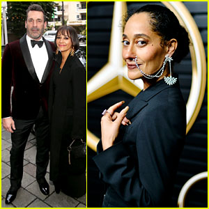 Jon Hamm, Tracee Ellis Ross, & More Watched Oscars 2020 at Mercedes-Benz's Viewing Party