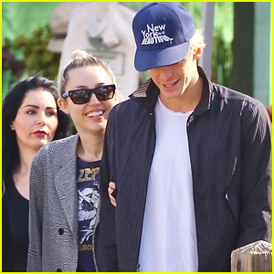 Miley Cyrus & Boyfriend Cody Simpson Go Shopping Together After Valentine's Day!