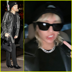Miley Cyrus Reveals Her Mood with Help From Her Middle Finger