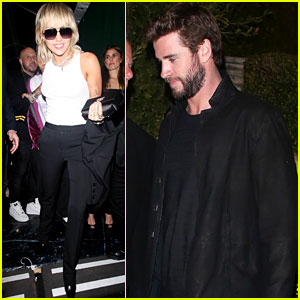 Exes Miley Cyrus & Liam Hemsworth Show Up at Same Pre-Oscars Party