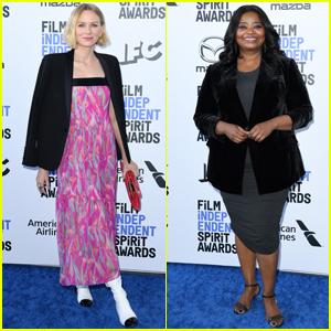 Naomi Watts Supports 'Luce' Co-Star Octavia Spencer at Spirit Awards 2020