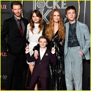 Netflix's 'Locke & Key' Cast Celebrate Their Series Premiere!