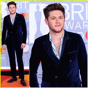Niall Horan Shows Off Chest Hair at BRIT Awards 2020