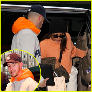Priyanka Chopra & Nick Jonas Return Home After Errands & Meetings in NYC