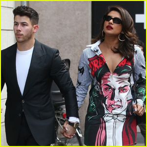 Nick Jonas & Priyanka Chopra Make One Picture Perfect Couple on Date Night in Milan!