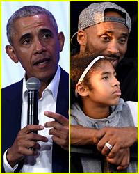 Barack Obama Opens Up About the Death of Kobe & Gigi Bryant in Emotional Speech