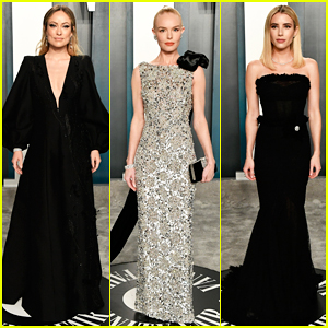 Olivia Wilde Reveals The Hilarious Pros & Cons of Her Vanity Fair Oscar Party Outfit!