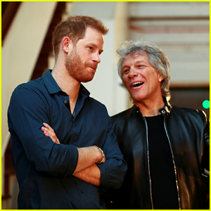 Prince Harry & Jon Bon Jovi Visit Abbey Road Studios to Record a Song Together for an Important Cause!