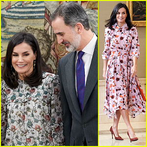 Spain's Queen Letizia Has Us Dreaming of Spring in These Gorgeous Floral Looks