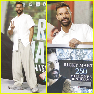Ricky Martin Says He Wants His Music To 'Carry Message of All Those Who Aren't Being Heard' in Puerto Rico!