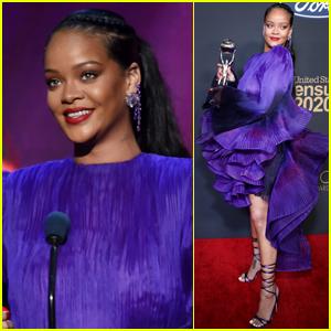 Rihanna Calls for Unity While Accepting President's Award at NAACP Image Awards (Video)