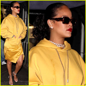 Rihanna Had a Very Late Night Outing with A$AP Rocky!