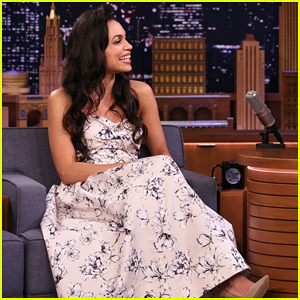 Rosario Dawson Reveals What She Loves About Cory Booker on 'Fallon' & It's So Cute! (Video)