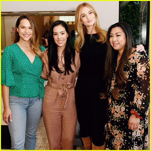 Rosie Huntington-Whiteley Celebrates Deserving Moms with Day of Pampering!