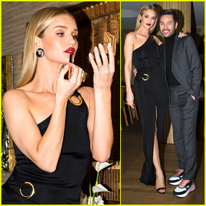 Rosie Huntington-Whiteley Celebrates Hourglass Cosmetics With Intimate Dinner Event