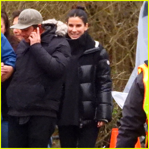 Sandra Bullock Films Upcoming Netflix Prison Drama in Vancouver - See the Set Pics!