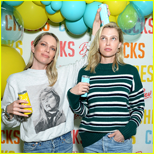 Sara & Erin Foster Launch New Partnership With Bev Drinks