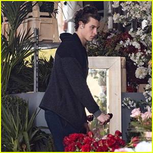 Shawn Mendes Buys Flowers & Gifts on Valentine's Day